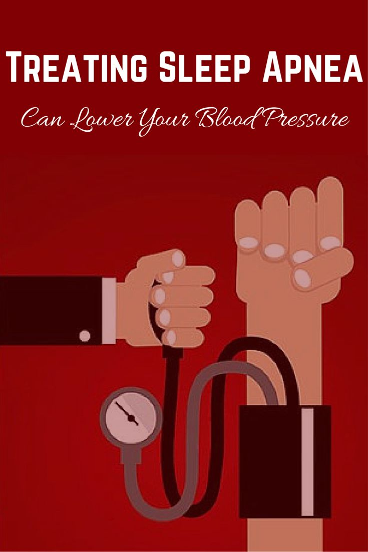 Two major forms of sleep apnea treatment can lead to improvements in patients' blood pressure. #sleepapnea #bloodpressure #everydayhealth | everydayhealth.com
