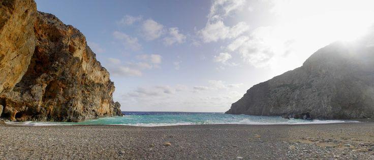 gorges of crete - agios farangos beach