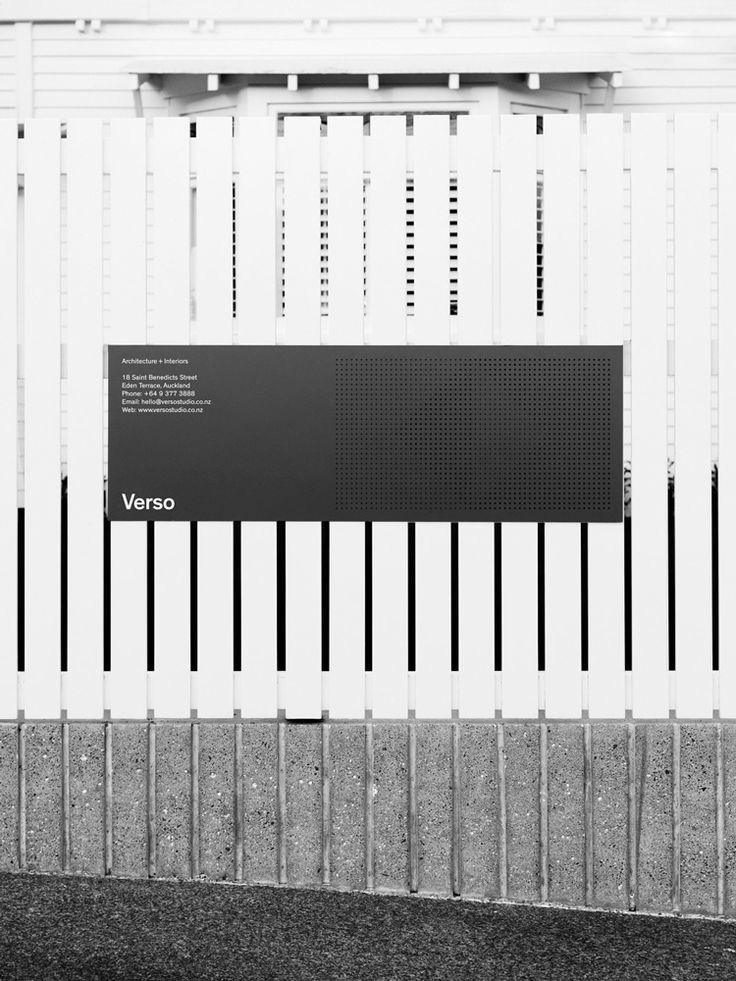 Picture of 12 designed by Studio South for the project Verso. Published on the Visual Journal in date 21 December 2016