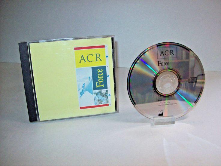ACR Force Rare Factory Records CD Facd 166 A Certain Ratio Leftfield Electronic #LeftfieldJazzdanceAmbientDowntempoElectronicaExperimentalAvantgardeTrance