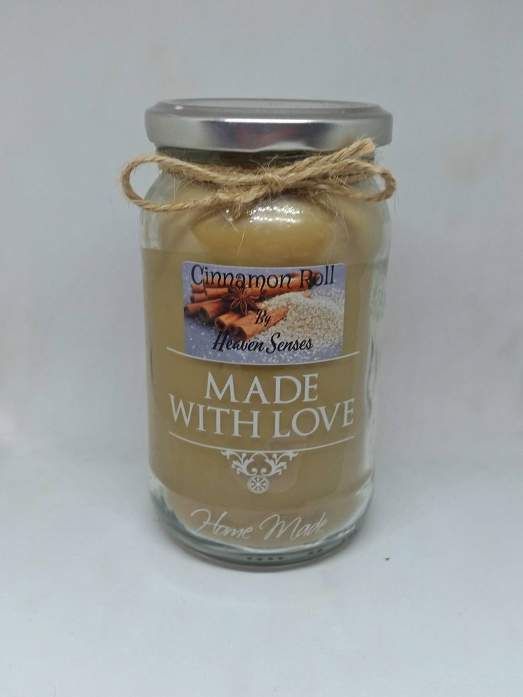 Handmade, Large, Cinnamon Scented Candle, Soy, Vegan friendly, Valentines gift, Gift for her, him, Gift for dad, mom, by Heaven Senses 16 oz by HeavenSenses on Etsy