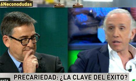 El economista Juan Torres abandona La Sexta Noche en directo por las mentiras de Inda