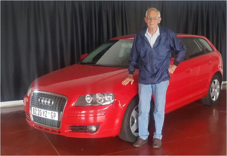 Mr Thompson & His Dream Audi A3. www.thempcargroup.co.za #cars #audi #a3 #nigel #delivery #happyclients #motorman #thempcargroup