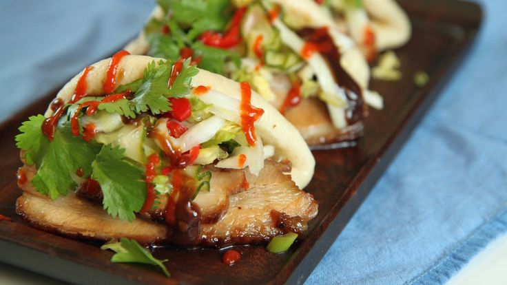 Pork belly buns