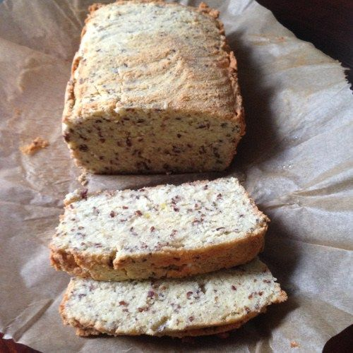 Süßes Paleo Brot fertig gebacken