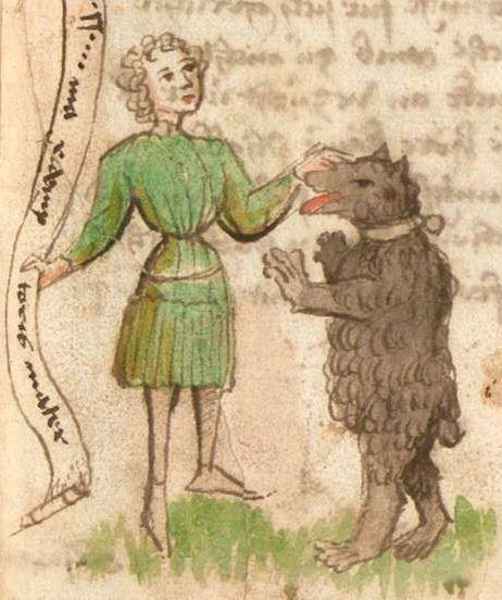 Thomasin : Der welsche Gast Schwaben, 3. Viertel 15. Jh. Cgm 571  Folio 23