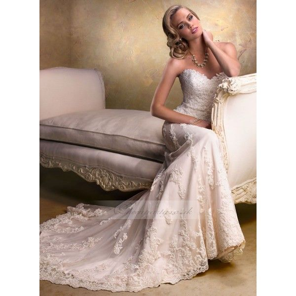 sweetheart a line wedding dresses