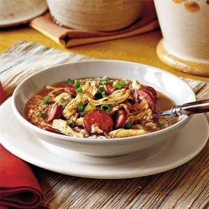 Recipe for shrimp and chicken gumbo, yum-o~ weight-watchers-recipesOne Dishes Dinner, Bourbon Chicken, Chicken Pasta, Gumbo Recipe, Stew Recipe, Chickenandsausag Gumbo, Chicken And Sausage Gumbo, Recipe Chicken, Dinner Recipe