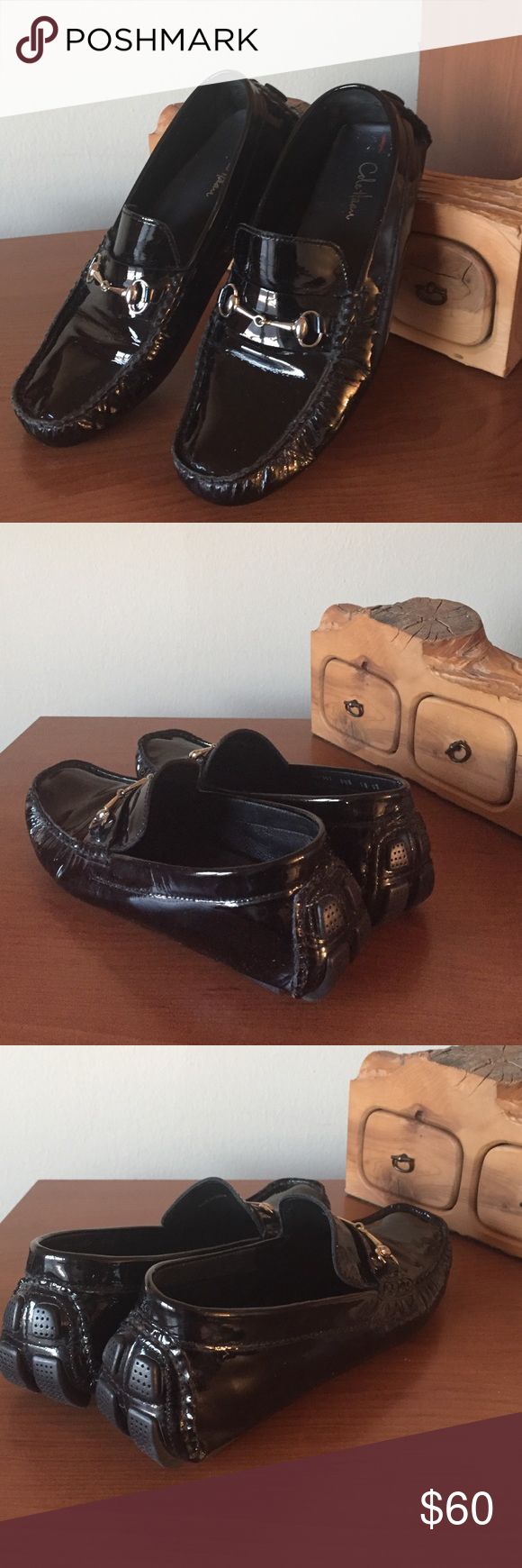 Cole Haan Driver Loafers Cole Haan Driver Loafers. Patent Leather in good used condition. Cole Haan Shoes Flats & Loafers