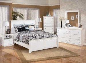 Kamar Tidur Minimalis Cat Duco Putih - Putra Mebel Jepara | Mebel Furniture | Toko Furniture | Mebel Jati Minimalis
