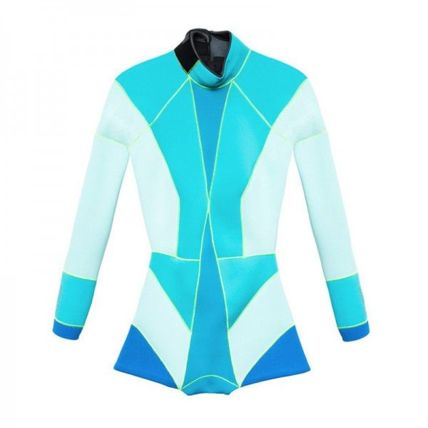Cynthia Rowley | Colorblock Wet Suit $210