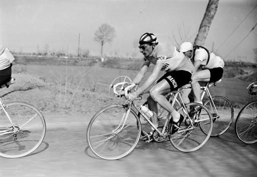 Fausto Coppi won Milan-San Remo in 1946, '48, and '49. Nice.