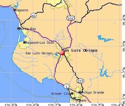 San luis obispo california dating areas