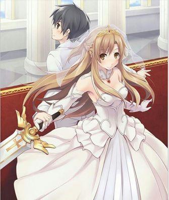Kirito & Asuna true love - By Sword Art Online Kirito and Asuna ღ