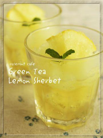 サクレの緑茶ジェリーレモネード by ローズミントさん | レシピブログ ...