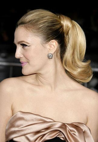 Drew Barrymore's Hair: 2009