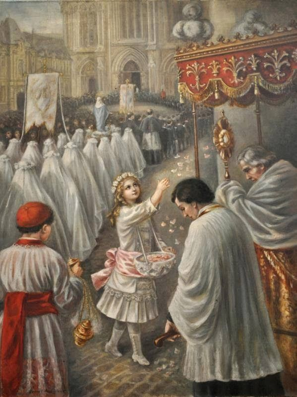 feast of corpus christi traditional - Google Search
