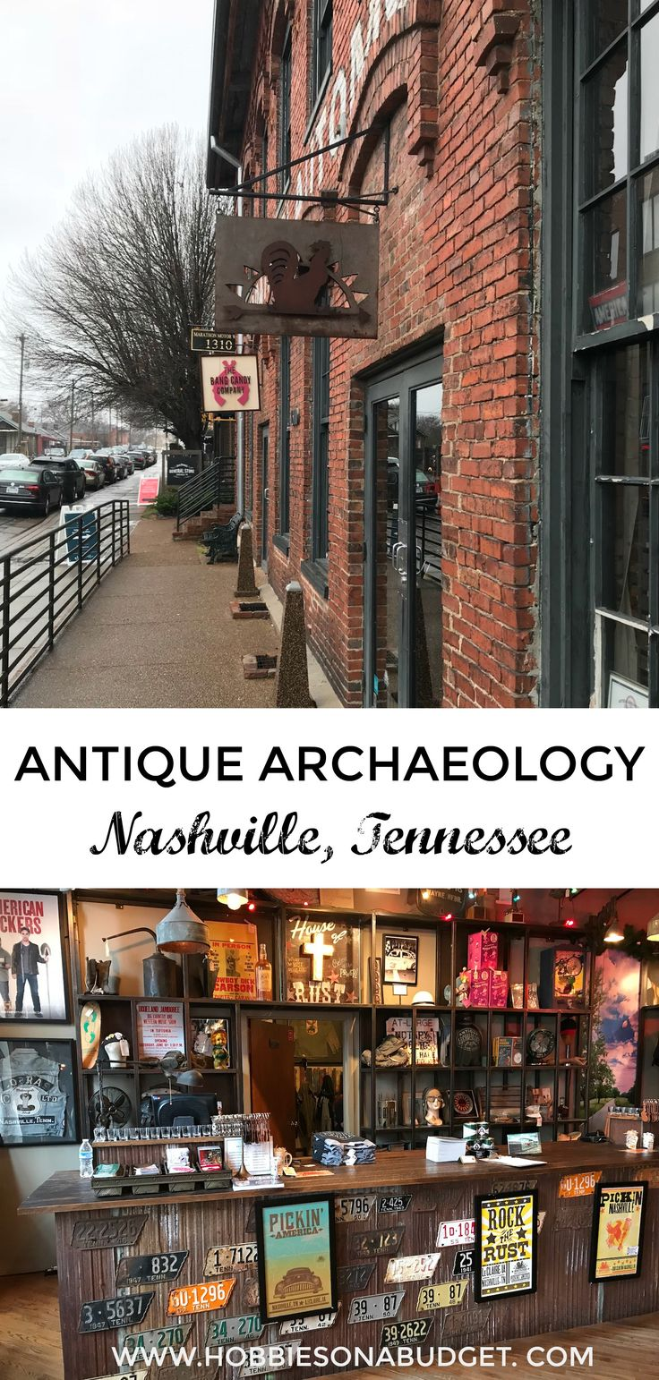 Antique Archaeology Nashville, Tennessee: If you love the show American Pickers on the History Channel, you need to take a few minutes and visit Mike Wolfe's second store in Nashville! #williamsonthego