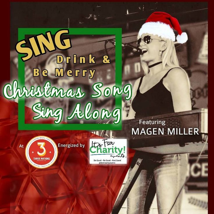 Join us at 3 Nations Brewing! Do you fa la la la love Christmas songs?! Here's a night you can ...
