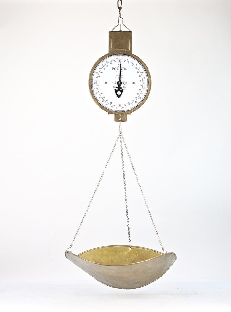 hanging scale brass scale old scale grocery scale produce scale hanging scale vintage scale - Hanging Scale