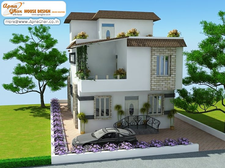 5 bedroom modern triplex 3 floor house design area for Modern house website