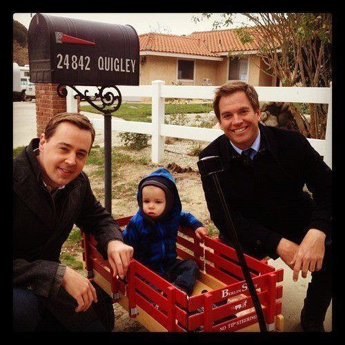 Sean Murry & Michael Weatherly