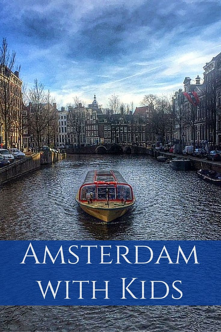 A Long Weekend in Amsterdam, The Netherlands with Kids - Things to see and do on a short family trip to Amsterdam | #amsterdam #netherlands #europe #familytravel | Gone with the Family