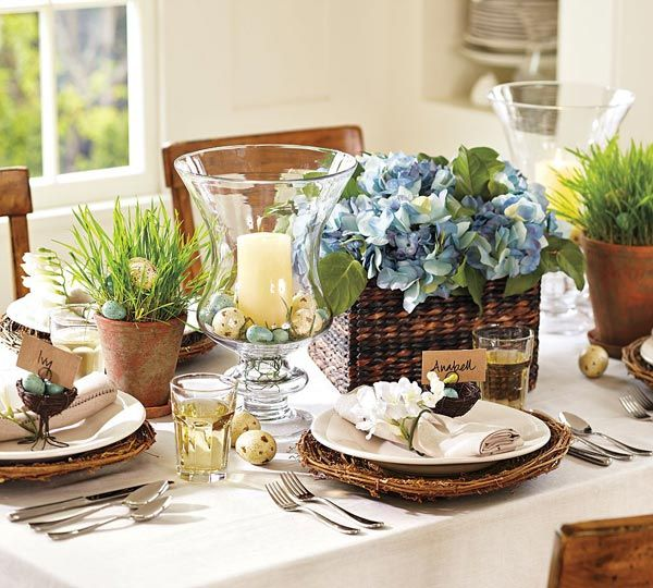 Image Detail For Easter Decorating Table Settings