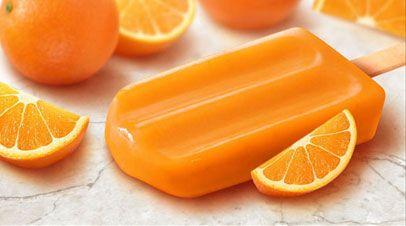 Gelado tangerina