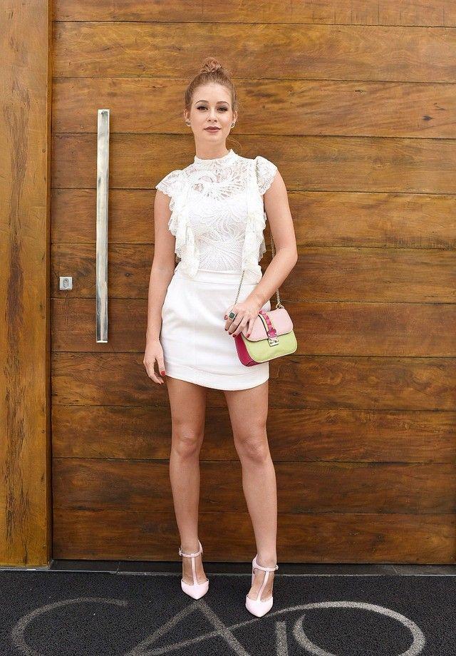 Marina Ruy Barbosa aposta em look rendado curtinho   Estilo menino, Roupas  da moda, Vestidos