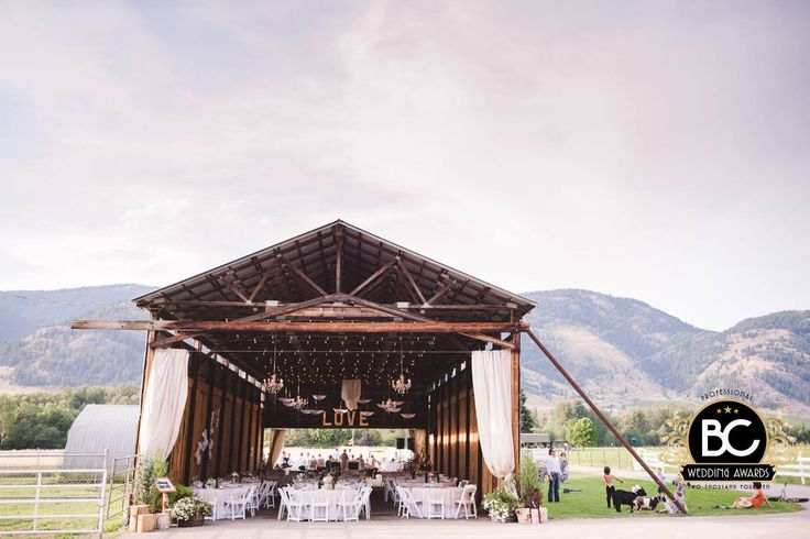 Best rustic wedding location in the Okanagan