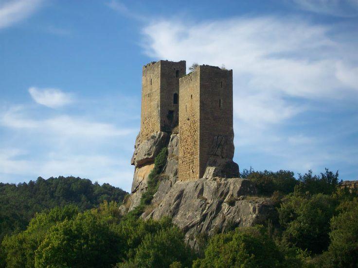 Castillo de Sibirana [Siglo X - Uncastillo, Aragón, España]
