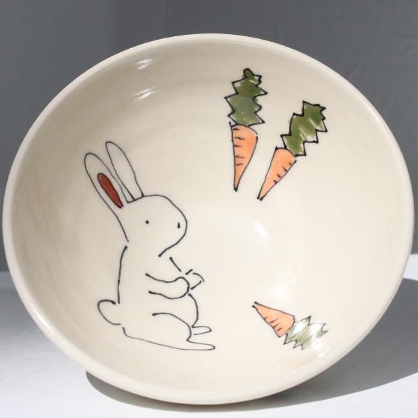 funny bunny bowls by abby berkson