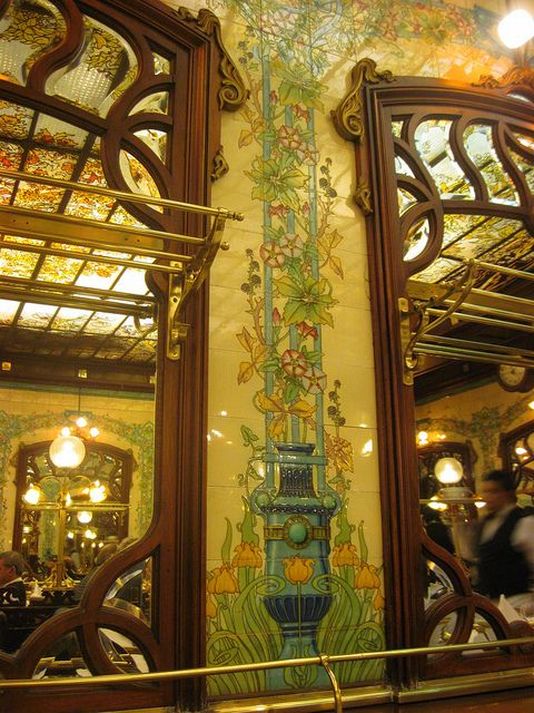 Hector Art Nouveau interior   Arte Nouveau Azulejos