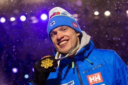 World Champion! Nordic World Ski Championships, Lahti, Finland, March 2017