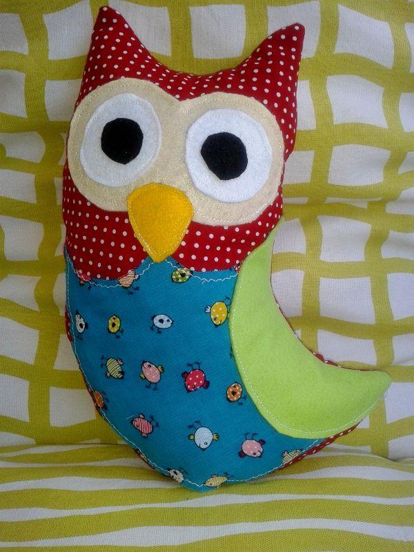 size 30cm X 21cm pillow owl