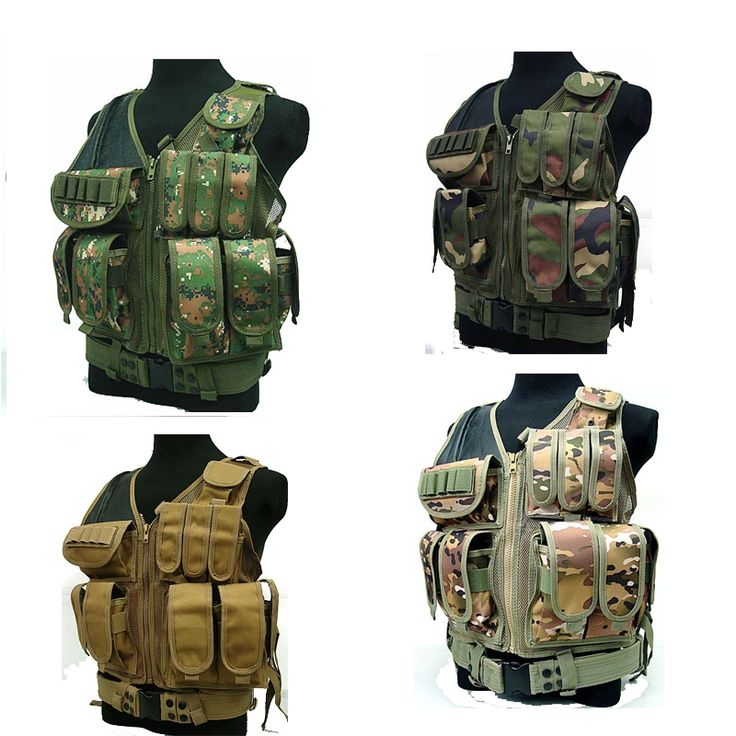 42.30$  Watch now - http://ali3ft.worldwells.pw/go.php?t=32709827092 - police gear Deluxe Airsoft Tactical Combat Mesh Vest CP CAMO gilet tactique police colete tatico militar equipamentos policiais