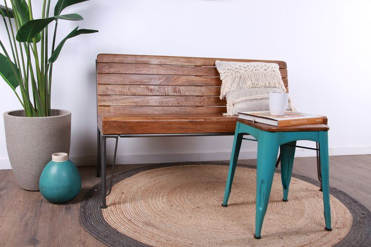 Bring a bit of substance into your outdoor area. As the name suggests, the Lad Bench is built to last.