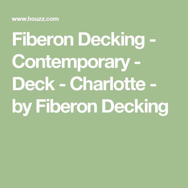 Fiberon Decking - Contemporary - Deck - Charlotte - by Fiberon Decking