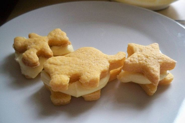 A brilliant recipe for making with children,  making classic custard creams in your favourite shapes.