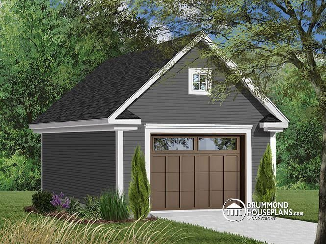 Discover The Plan 2977 19 Colonial Bay 2 Which Will Please You For Its American Styles Garage Plans With Loft Garage Plans Detached Backyard Garage