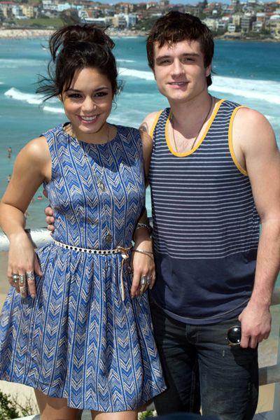 Vanessa Hudgens and Josh Hutcherson bonding at Bondi BeachVanessa Hudgens, Hutcherson Bond, Bondi Beach, Random Pin, Josh Hutcherson 3, Beach Celebrities