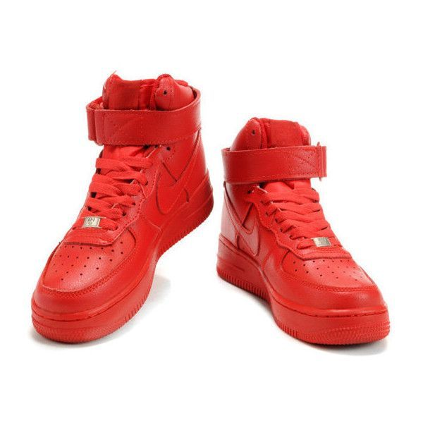 Air Force Shoes Red