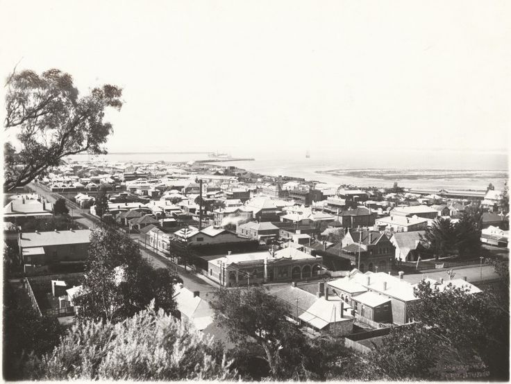 BA1271/332: Bunbury from Boulter's Heights, 1920 http://encore.slwa.wa.gov.au/iii/encore/record/C__Rb2107352?lang=eng