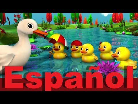 Cinco patitos | Canciones infantiles | LittleBabyBum - YouTube