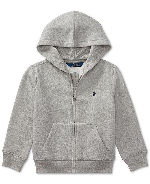 ff4ea212c Polo Ralph Lauren Toddler Boys Full Zip Hoodie & Reviews - Sweaters - Kids  - Macy's