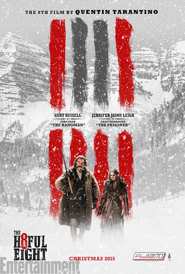The Hateful Eight : un nouveau poster pour le western de Tarantino - News films Vu sur le web - AlloCiné