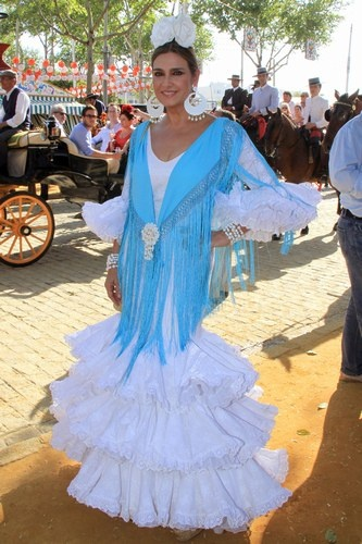 Marina Danko en la Feria de Abril