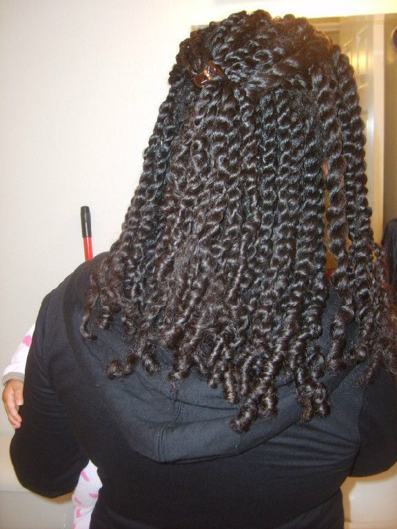 Charise Brunner of Caused2Win.com hair-do, the Double Strand Twist!