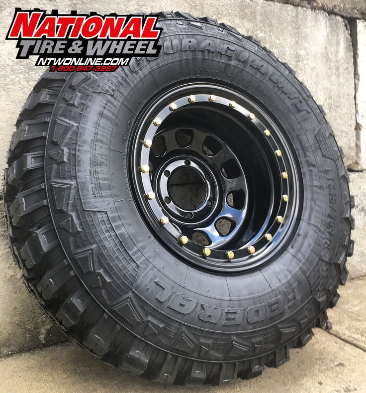 National Tire And Wheel >> 16X10 Pro Comp Rockcrawler mounted up to a 315/75R16 ...